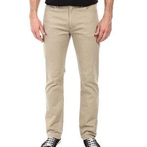 Levi's | Khaki Cotton Straight Chino Pants 34 x 34